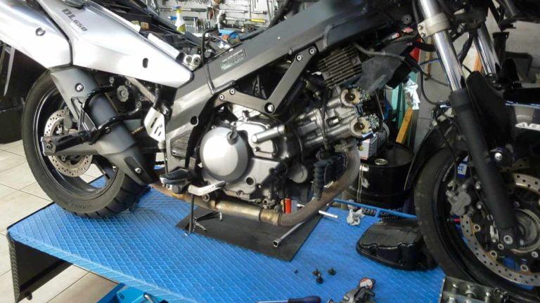 ρύθμιση βαλβίδες V-STROM 650
