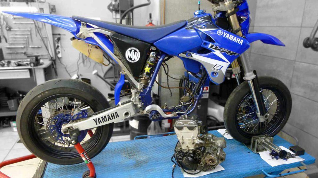 yamaha wr450f κινητήρας