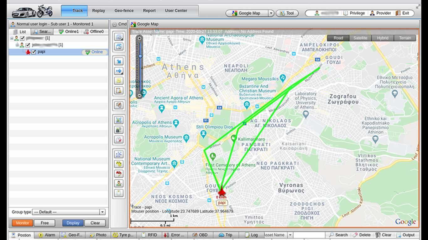 GPS GPRS TRACKING συναγερμος μοτο