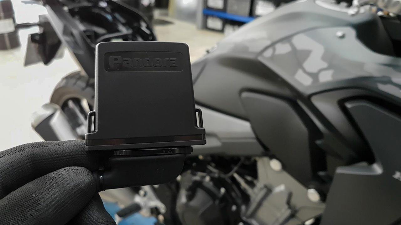 Pandora V2 smart συναγερμος μοτο