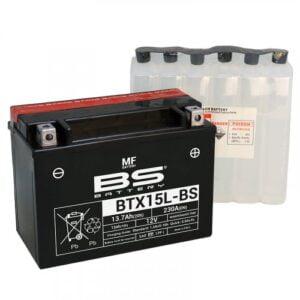 Μπαταριά μοτοσυκλέτας BTX15L-BS