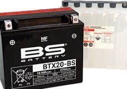 Μπαταριά μοτοσυκλέτας BTX20-BS