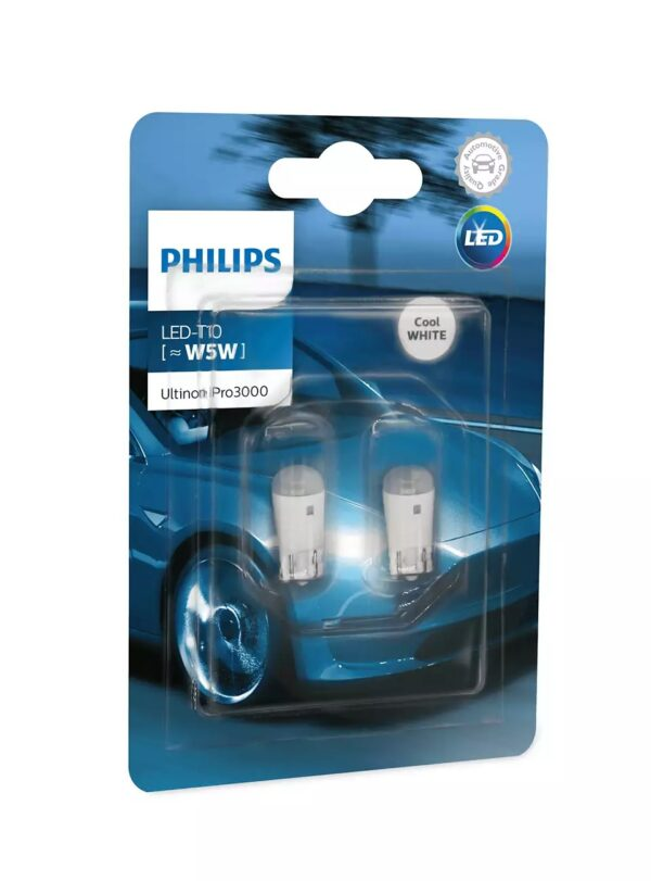 PHILIPS LED T10 6000K Ultinon Pro3000