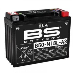 Μπαταριά μοτοσυκλέτας BS B50N18L-A3
